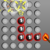 Grid Blast - Clear the board of all the bombs in this head-scratching puzzle game.