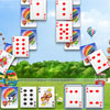 Happy Park Solitaire - Do not lose the opportunity to play this free online colorful solitaire game. Erase two cards of the same rank. If there is no combination, turn over the top of the stock , it can be turned over only 3 times. This game have 20 levels and bright quality graphics and addictive gameplay.