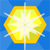 Hexer - Hexer is a fast paced hexagon base puzzle game. Rotate the hexagons in the grid to match up hexagons of the same color. Press on combinations of four or more to destroy them. Larger combinations mean more points. 