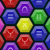 HexMatch - Relaxing hexagonal match 3 with colorful tiles.