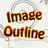 Image Outline - Simple and fun game. You shall shape picture using black ball. When you shape essential part of picture it will be open in color. Open all pictures to win. You can replay this game to see more pictures.