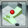 isoball - Puzzle game-get the ball in the hole by building a track using various blocks.  The objective is to build increasingly complex tracks with more unique blocks to assist the ball in reaching the destination hole. The game is against the clock over 20 levels. Complete the levels perfectly with velocity to unlock 5 bonus 'sandbox' levels where you get to build as complicated track as possible for more points. Progress through the rankings from red ball 'novice' to black ball 'architect'.