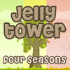 Jelly Tower Seasons - Have you ever tried to build up a castle from cards or even toothpicks? It is totally funny and addictive, because a little wind could destroy everything. Try to build up a tower in this game adding the proper elements. Keep the tower balanced, otherwise, it will fall apart and you will lose. Have fun!