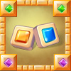 Jolly Jong Blitz - Match any gem anywhere to make patterns fall into place.
