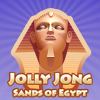 Jolly Jong - Sands of Egypt - Fun game with stacked Mahjong tiles Egyptian style.
