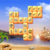 Jolly Roger Mahjong - New free online mahjong in pirate theme from Game-Mahjong.com You have an ancient pirate map that leads to the treasure, solve one hundred puzzles, travel thru inhabited island, full of dangerous adventures, and capture the precious trunk. Impressive quality graphics, hundred levels, addictive gameplay.