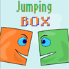 Jumping Box - Fun physical game. Shoot the little box and help her to fly to the finish!