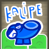 Kalipe - Kalipe is a unique stacking puzzle game. Let objects stack up until like objects combine into bigger objects and then click on them to collect. Don't let object stacks get two high by removing some, watch out for Kalipe's enemies who eat the objects, get rid of them quick! Any item clicked on will be collected by Kalipe, bad or good!