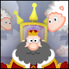 King Rolla - Your castle is infested with sheep and you cannot sleep! In each level knock out all of the sheep, while avoiding all comfy objects. Use your flying and rolling skills to complete each level.