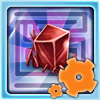 Kiz - Crystal Maze - Crystal Maze is a Puzzle Game where you guide a Red Crystal through the caves of Crater Park in an attempt to cleanse it with the Cleansing Portal so that it may be used in KizPlanet!