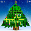 Light Up the Christmas Tree Puzzle - Light up the Christmas tree by connecting all the wires and light bulbs to the electrical source. You can rotate the wires and the bulbs by clicking them.