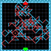 Line Bounder - Turn based strategy game, your aim is to reach enemy ground and stop him from reaching yours. It's an old school game in which you move by drawing a line.