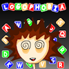 Logophobia - A combination of Boggle and Tetris find the words in a grid of letters. Go head to head against another person or the clock.