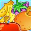 Match Fruits - Gather fruits by matching them into groups of three or more.