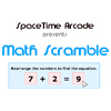 Math Scramble - Solve math puzzles by rearranging the numbers to find the equation.