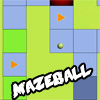 MazeBall - The game is about controlling a ball in 10 different mazes.