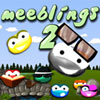 Meeblings 2 - Two brand new Meeblings are here to help you through 50 all new levels in this long awaited Meeblings sequel. New graphics, new puzzles, new sounds. The Meeblings' world just got twice as good!