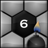 Mine Sweep 6 - Clear the world from dangerous mines in this exiting new variant of Mine Sweeper. Using hexagonal pieces with six surrounding neighbours, Mine Sweep 6 offers fresh challenges for loyal players of Mine Sweeper and new players alike.