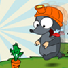 MOLE(the first hunting) - Help the mole to collect all the vegtables, without standing on the same square twice!
