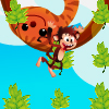 Monkey Collect - Collect fruits, jumping on the leafs.