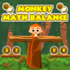 Monkey Math Balance - Balance the scales