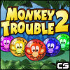 Monkey Trouble 2 - Monkey popping fun is back with this sequel to the hit game Monkey Trouble! With 30 levels of monkey-filled slidy match-3 action, 3 difficulties to suit all players, and lots of bonuses to collect – it is sure to put a cheeky monkey grin on your face!