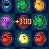 Monster Gems - Destroy monsters by creating lines of 3 or more monsters of the same kind.