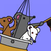 MousePop - Hangman like game, but have the mice in a balloon.
