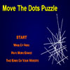 Move the Dots Puzzle - The object of this game is to clean up the mess by moving the dots so that the lines no longer cross
