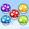 Mushrooms Blast - Fun and colorful mushrooms clicking game.