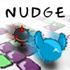 Nudge - Nudge is a new, fun puzzler from Atomic Cicada!!  Help guide Nudge and his Balloons through 40 fun and complex puzzle mazes. But be careful, the Balloons are fragile, the puzzle walls change with Nudge's every move, and there are Baddies lurking in the maze, waiting to hurt Nudge and Pop his precious Balloons!!