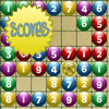Number Twins - In this game there will be a grid of balls numbered from 1 to 9. You need to match the balls that add up to 10. A pair of balls can only be matched if they can be connected by a line that turns at most twice. If you can match the balls with a star on them, then the other balls will all be sorted by colour and it will be easier to spot the ball pairs. Use the mouse to click the balls to form the pairs. The faster you finish, the higher the score.