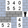 Numeric Maze - This game is a numeric keypad training game. Num Lock has to be active before you start. You have to find your way to the maze's exit by pressing the right keys. You have to press the number in the square where you want to move. The player can only move up, down, left and right. If you get stuck, the game ends or you have to press the