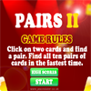 Pairs II - The sequel to the classic pairs game. Adds a number of new features including multi-level, time and flip bonuses, better leaderboard integration and new graphics.