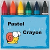 Pastel Crayon - Get the Ball to the finish.