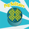 Peg Solitaire - Peg solitaire is a board game for one player involving movement of pegs on a board with holes.