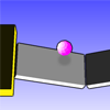 PinkBall - Guide the pink ball through the levels as fast as you can without falling down! Featuring 3d-physics and 3d-graphics.