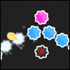 pixelBOMB 2 - Collect the stars with your mouse, get timestone gems to go back in time and avoid the dark stars.