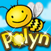 Polyn - An addicting mash-up game of Words and Match Three.  Help Polyn gather honey by making words while matching the colors of flowers by three or more