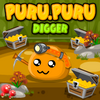 Puru Puru Digger - Play this cute unique puzzle game with Puru Puru.