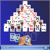 Pyramid Solitaire Deluxe - A deceptively simple game of solitaire. The idea of the game is to clear all of the cards by removing removing combinations of 1 or 2 cards that total 13 points.