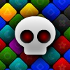 Qrossfire - A fast-paced and eye-catching match 3 puzzle game with exciting power-ups, fast flying blocks, exploding bombs, and beautiful graphics.