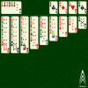 Raglan Patience - Raglan is a solitaire game similar to King Albert, in which only one card can be moved at a time and cards are stacked in red-black descending sequences.  Aces start on the foundations, and there is also a reserve of 6 cards.