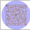 RotoMaze - Complete the maze as quickly as possible by rotating with mouse.
