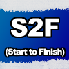 S2F - Start 2 Finish by moving your mouse over the blocks to the green finish block. Go though 25 unique levels in this quick fun fast game.