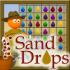 SandDrops - Collect sand drops in the desert with your amazing puzzle skills!  Put the sand drop pieces on drops with the same color. Can you make all the walls disappear in the 60 levels? If your sand drop piece doesn't match, you can toss it in the pot of stars. But beware! This will cost you a life.