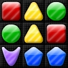 Shape Matcher Level Pack - More shape matching fun with 25 brand new levels! Swap the shapes to match 3 or more, and clear all black squares to clear the level! There's even a level editor to make your own challenging levels.