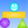 Shrink It - shrink and grow shapes to get smiley to the end, interesting and unique puzzles