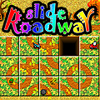 Slide Roadway - In Slide Roadway your car is running on a puzzle. You need to move the puzzle pieces to make the car find the goal!