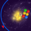 Space Pop - You are in control of a circular heap of planets with a dead gray planet at its center. During the game, planets appear from all directions moving towards the center and sticking to the heap. Line up 3 or more planets of the same color to make them pop and vanish. The heap can be rotated using [LEFT] and [RIGHT] arrow keys.